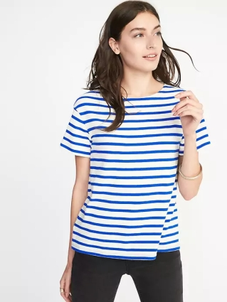 Old Navy Relaxed Mariner-Stripe Tee